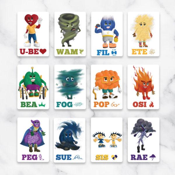 assorted flashcards, beutofullness, learning